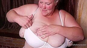 La hermosa gorda Michele Marie